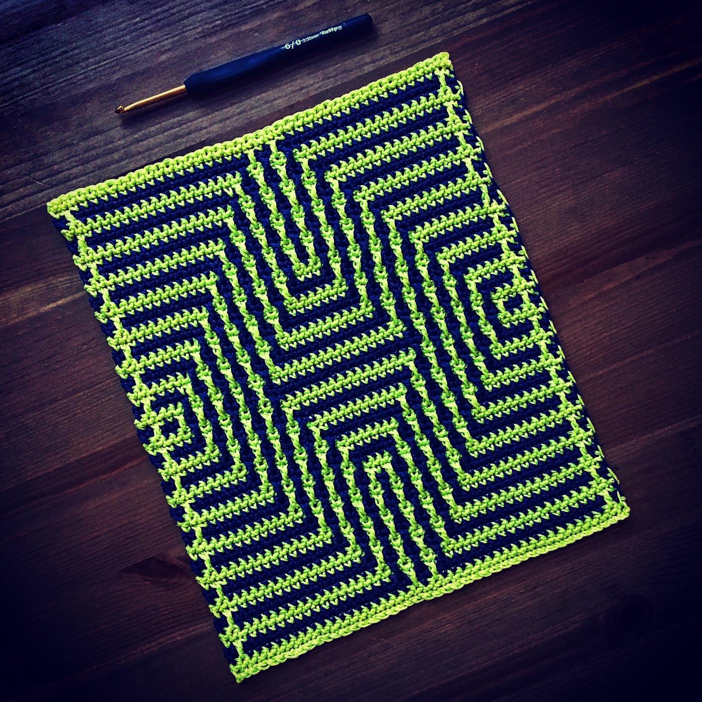 A Short Introduction Mosaic Crochet Martin Up North