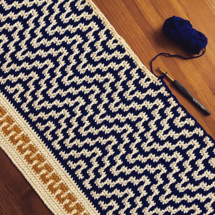 "The ""One Step Beyond"" Blanket – Free Pattern Inside – Martin Up North"