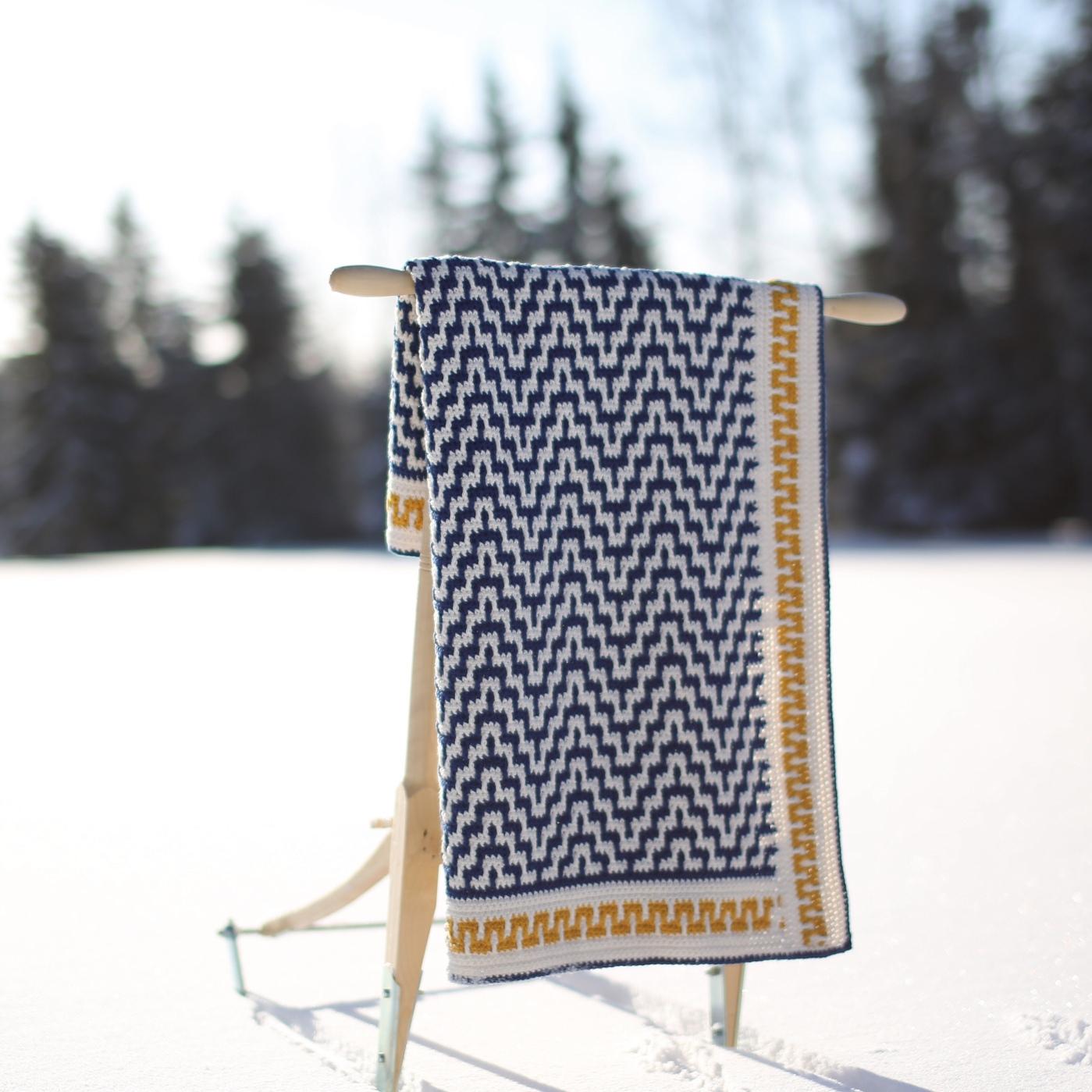 Annas Haakwerk Mozaïek Haken Mosaic Crochet